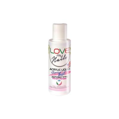 Love my Nails Acrylic Liquid Fast – Ακρυλικό υγρό Fast – 120ml